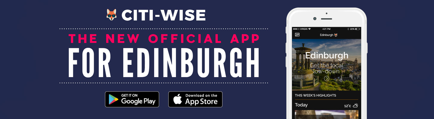Citi-Wise: The new official app for Edinburgh